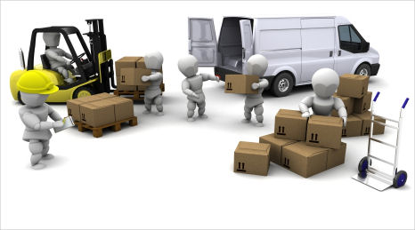 What is the customer using the loading and unloading service?