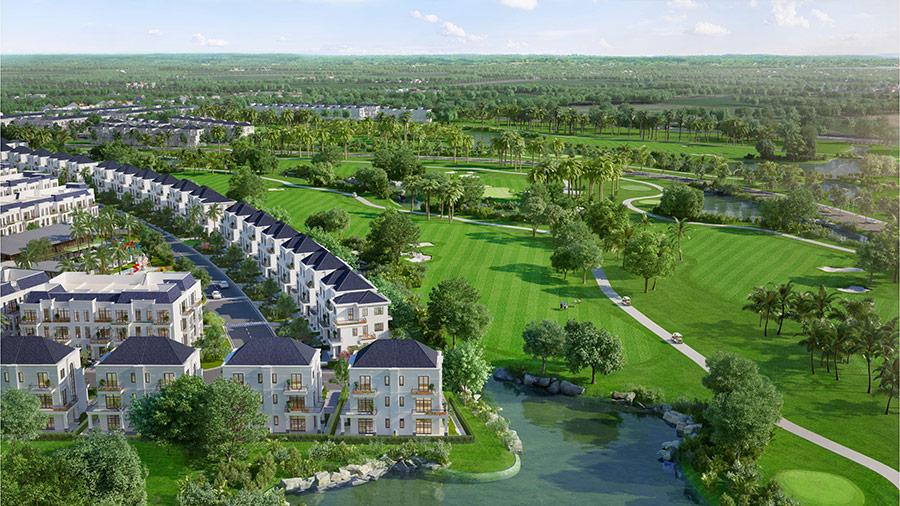 West Lakes Golf & Villas khu biệt thự nghỉ dưỡng sân golf đẳng cấp tại Long An